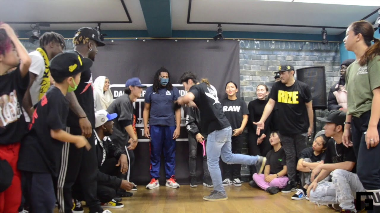 G Queen 動画 ダンス動画】jr krow vs queen xyb | tha deal | 2019.12.02